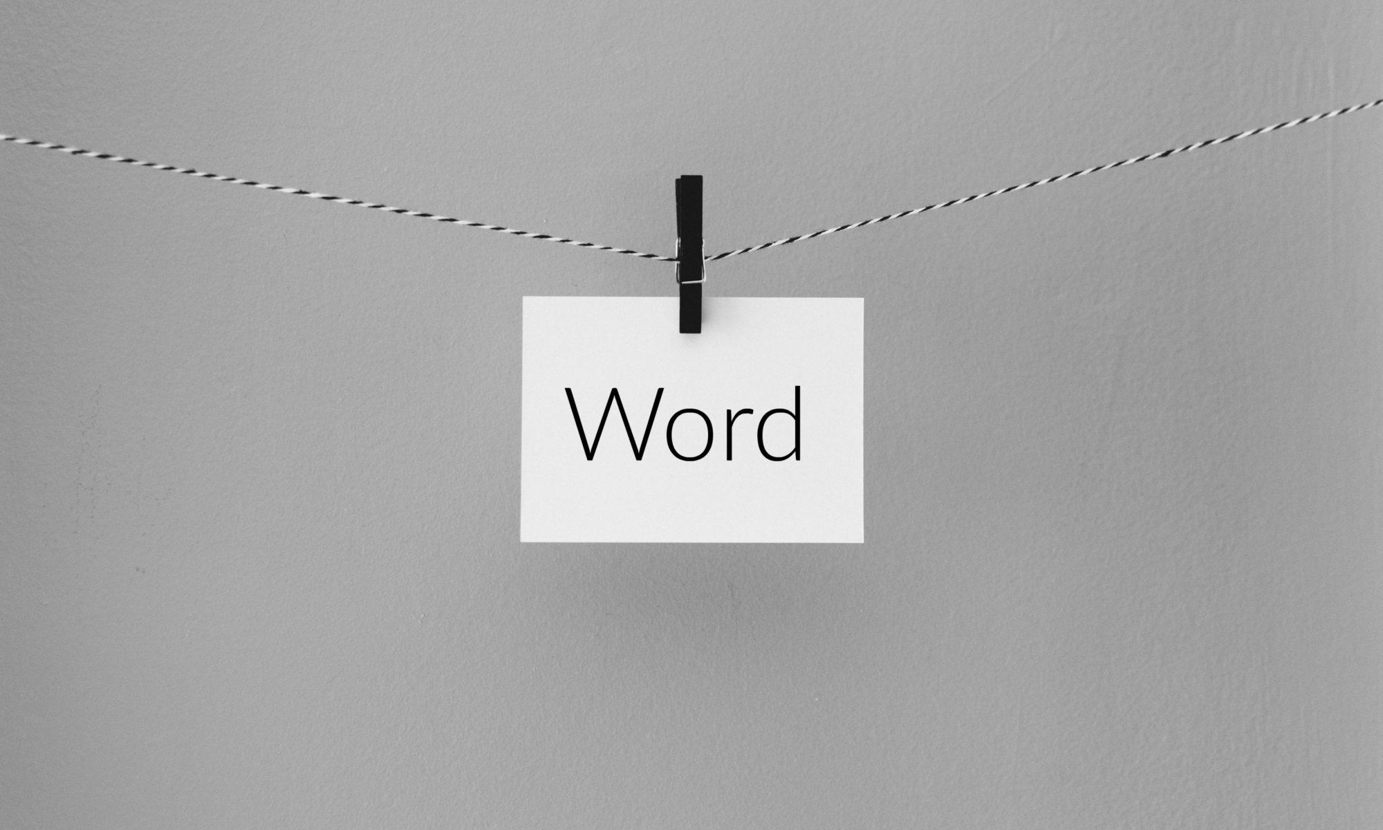Word Revealed